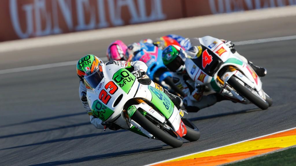 Niccolò Antonelli, GO&FUN Gresini Moto3, Valencia QP