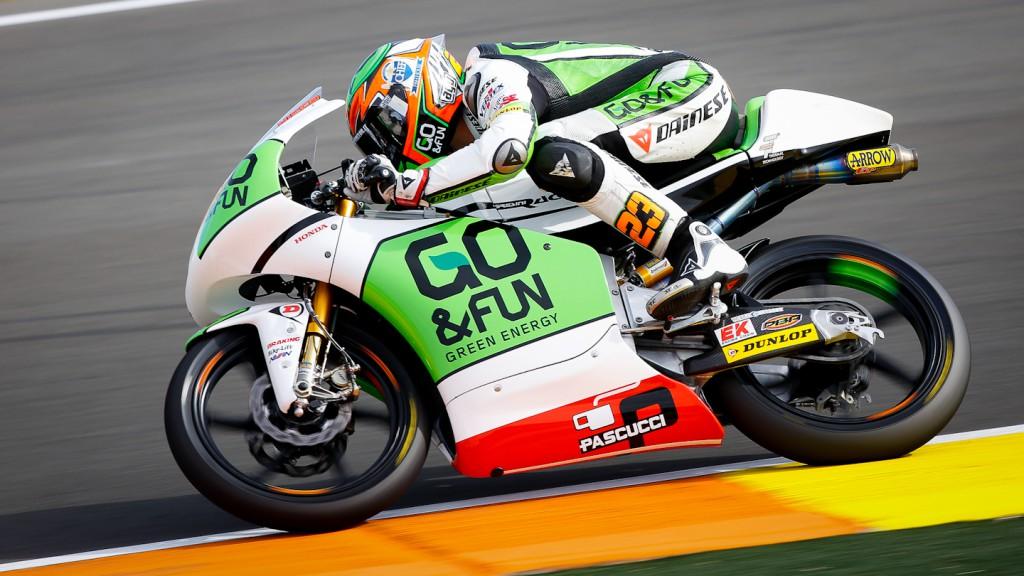 Niccolò Antonelli, GO&FUN Gresini Moto3, Valencia FP3
