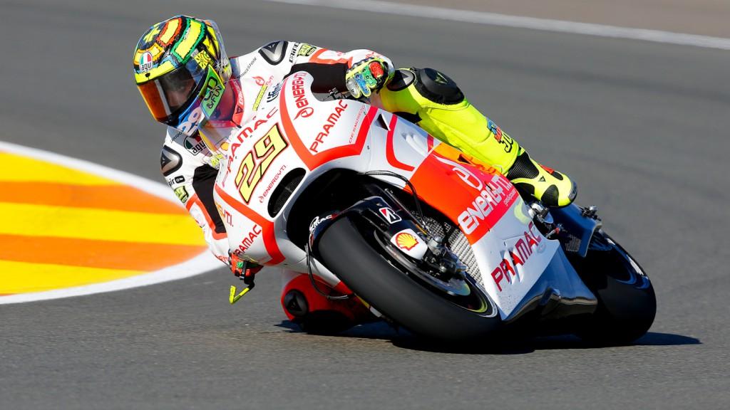 Andrea Iannone, Pramac Racing Team, Valencia Q2