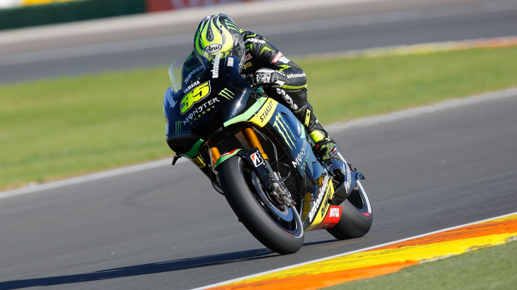 Cal Crutchlow, Monster Yamaha Tech 3, Valencia Q2