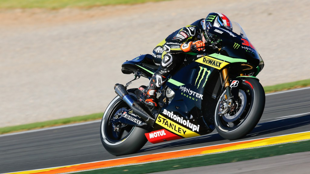 Bradley Smith, Monster Yamaha Tech 3, Valencia Q2