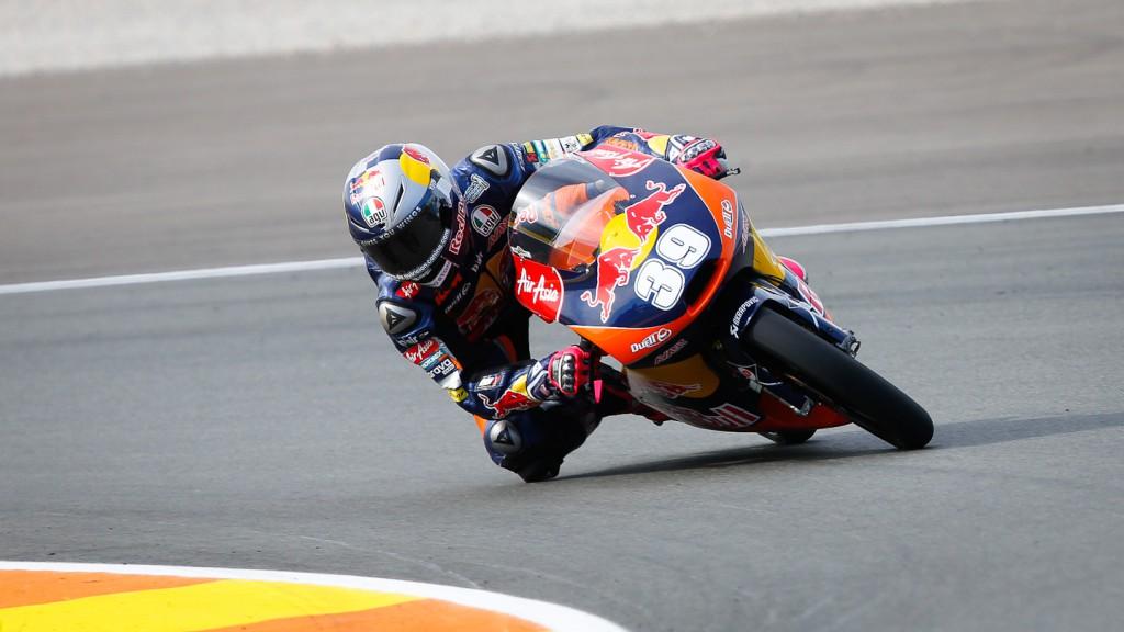 Luis Salom, Red Bull KTM Ajo, Valencia QP
