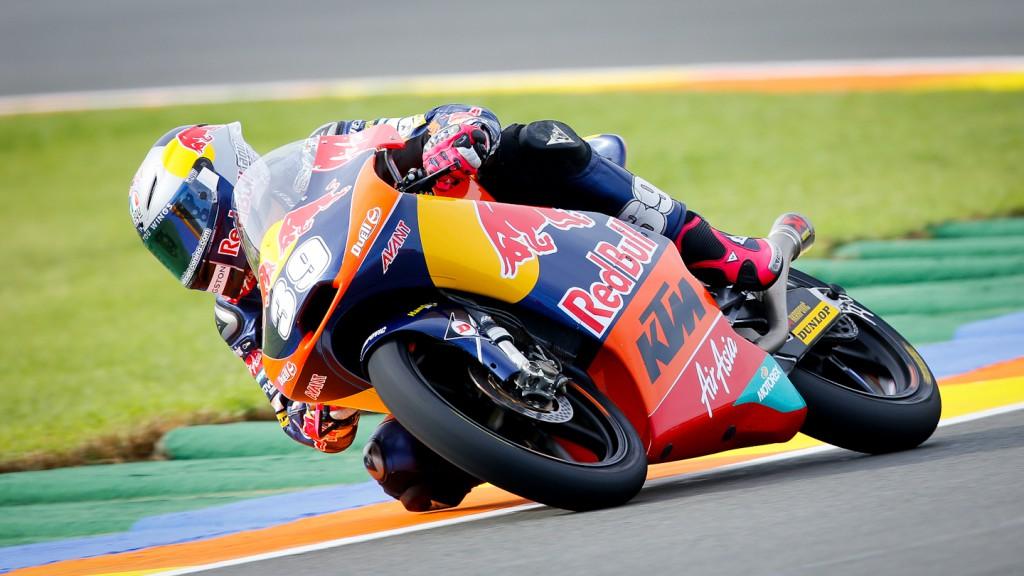 Luis Salom, Red Bull KTM Ajo, Valencia FP3