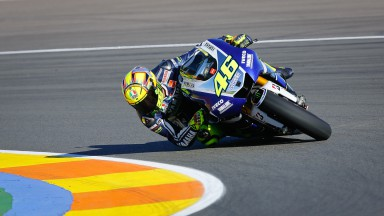 Valentino Rossi, Yamaha Factory Racing, Valencia Q2