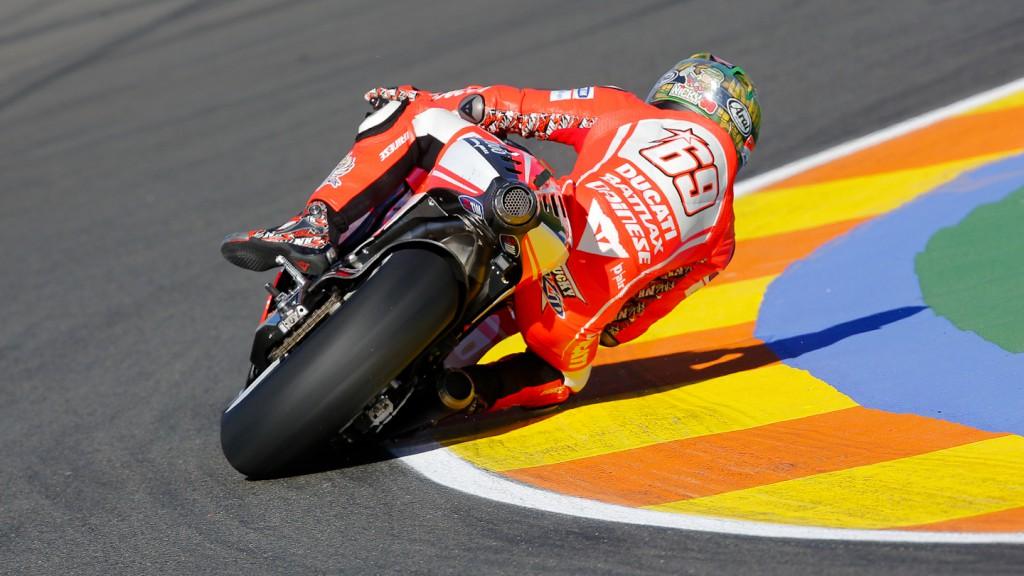 Nicky Hayden, Ducati Team, Valencia Q2