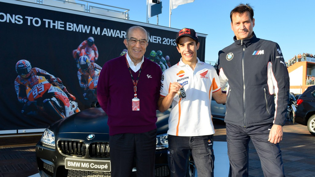 Marc Marquez, BMW M Award Winner, best qualifier MotoGP 2013