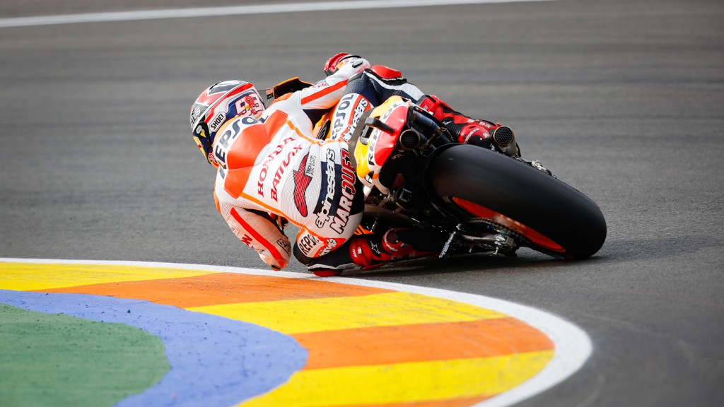 Marc Marquez, Repsol Honda Team, Valencia FP3