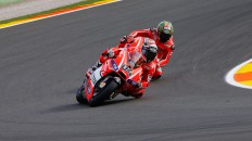 Andrea Dovizioso, Nicky Hayden, Ducati Team, Valencia RAC