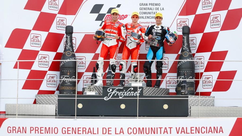 Torres, Terol, Zarco, Aspar Team Moto2, Came IodaRacing Project, Valencia RAC