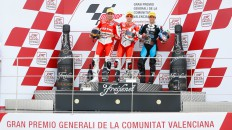 Torres, Terol, Zarco, Aspar Team Moto2, Came IodaRacing Project, Valencia RAC