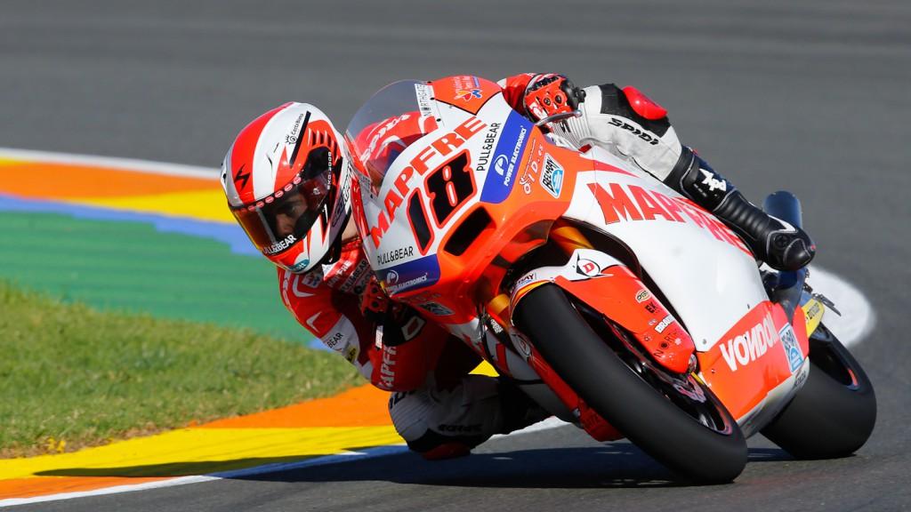 Nico Terol, Aspar Team Moto2, Valencia WUP