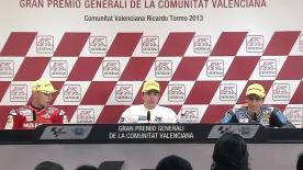Gran Premio Generali de la Comunitat Valenciana: Moto3 Post-Race press conference