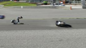 Valencia 2013 - Moto3 - RACE - Action - John Mcphee - Crash