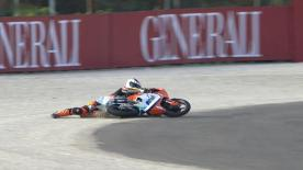 Valencia 2013 - Moto3 - WUP - Action - Toni Finsterbusch - Crash