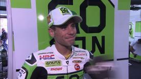 Valencia 2013 - MotoGP - RACE - Interview - Alvaro Bautista