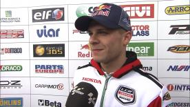 Bradl's first World Championship finish in Valencia