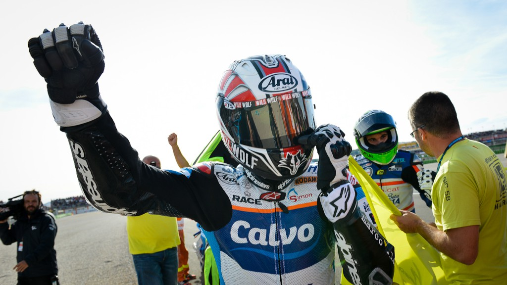 2013 Moto3 World Champion Maverick Viñales, Valencia RAC