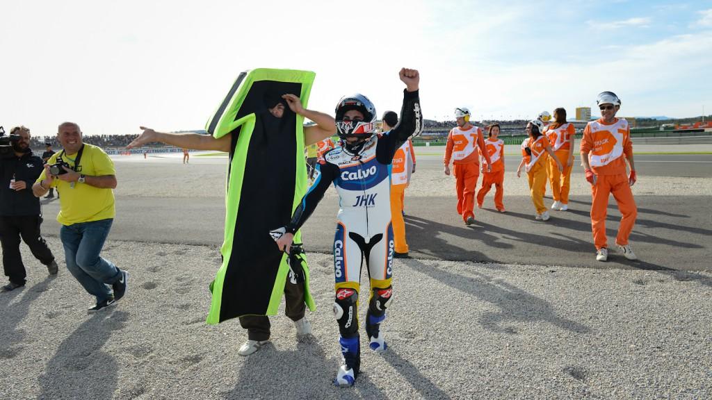 2013 Moto3 World Champion Maverick Viñales, Valencia RAC