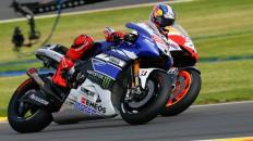 Jorge Lorenzo, Dani Pedrosa, Yamaha Factory Racing, Repsol Honda Team, Valencia RAC