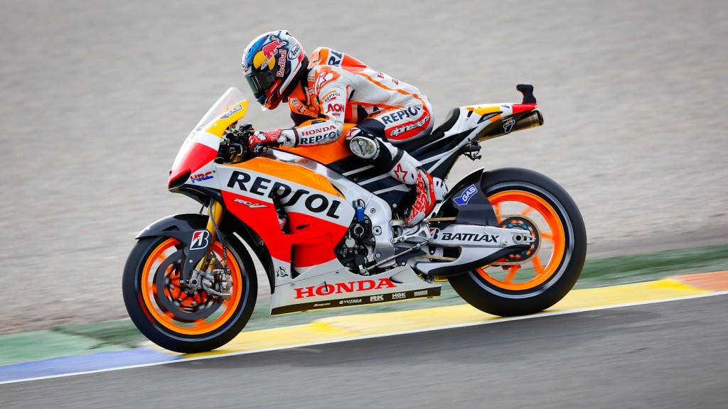Dani Pedrosa, Repsol Honda Team, Valencia WUP