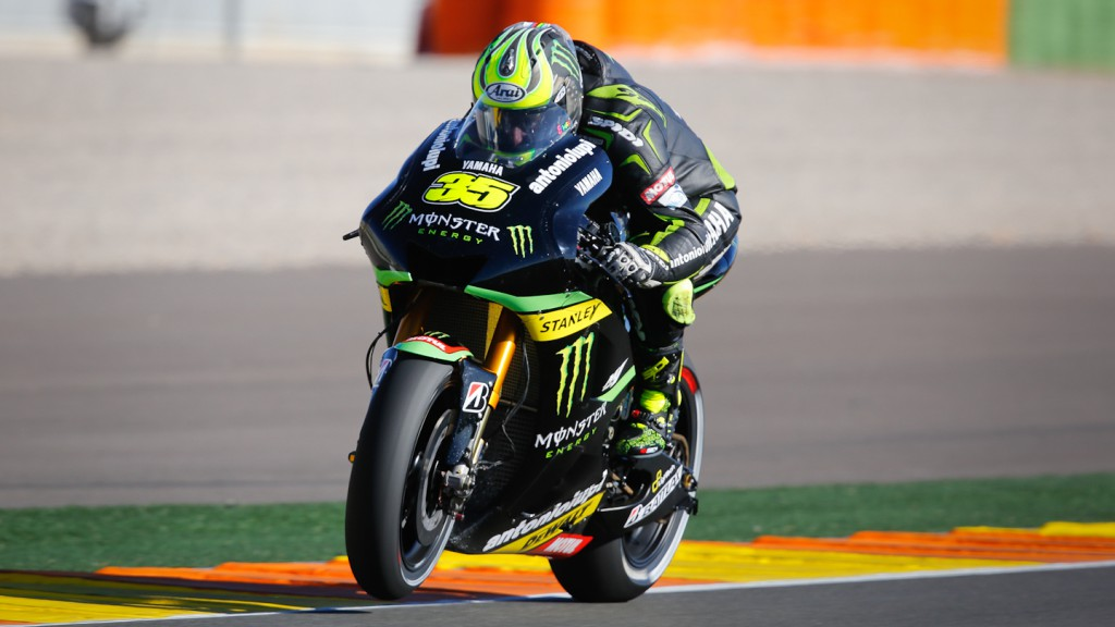 Cal Crutchlow, Monster Yamaha Tech 3, Valencia WUP