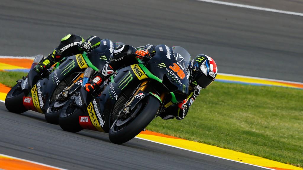 Bradley Smith, Monster Yamaha Tech 3, Valencia RAC