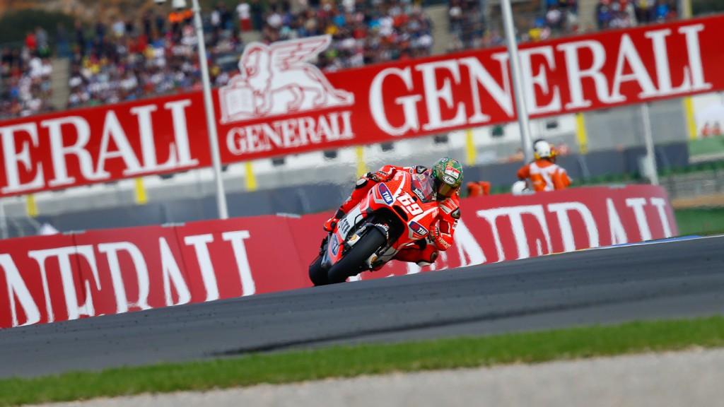 Nicky Hayden, Ducati Team, Valencia RAC