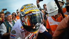 2013 MotoGP World Champion Marc Marquez