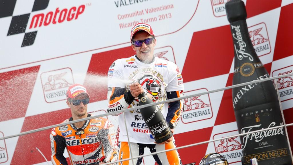Marc Marquez, Repsol Honda Team, Valencia RAC