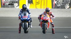Jorge Lorenzo, Marc Marquez, Yamaha Factory Racing, Repsol Honda Team, Valencia WUP