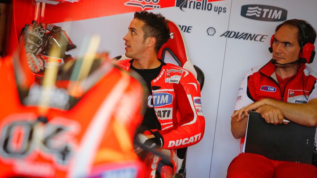 Andrea Dovizioso, Ducati Team, MotoGP Valencia Test Day 1