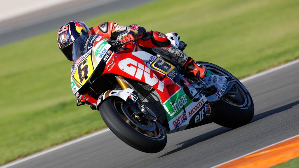 Stefan Bradl, LCR Honda MotoGP, MotoGP Valencia Test Day 1