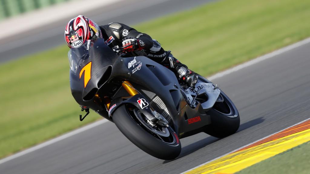 Hiroshi Aoyama, Aspar Team, MotoGP Valencia Test Day 1