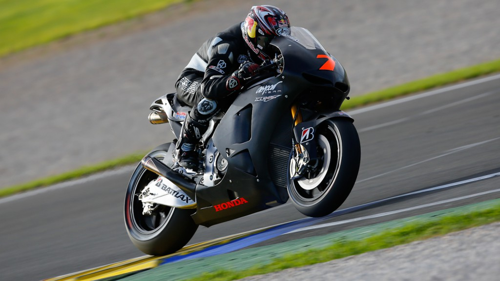 Hirosi Aoyama, Aspar Team, MotoGP Valencia Test Day 1