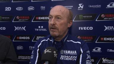 Valencia test day one - Galbusera on working with Rossi