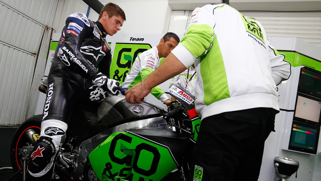 Scott Redding, GO&FUN Honda Gresini, Valencia Test Day 1