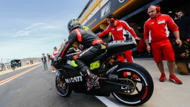 Cal Crutchlow, Ducati Team, Valencia Test Day 1