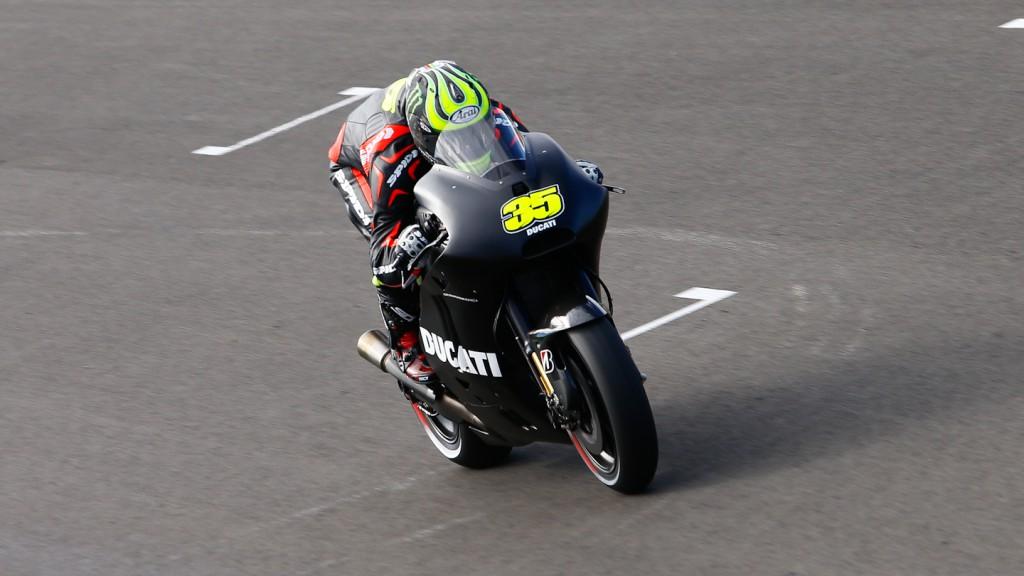 Cal Crutchlow, Ducati Team, Valencia Test Day 1