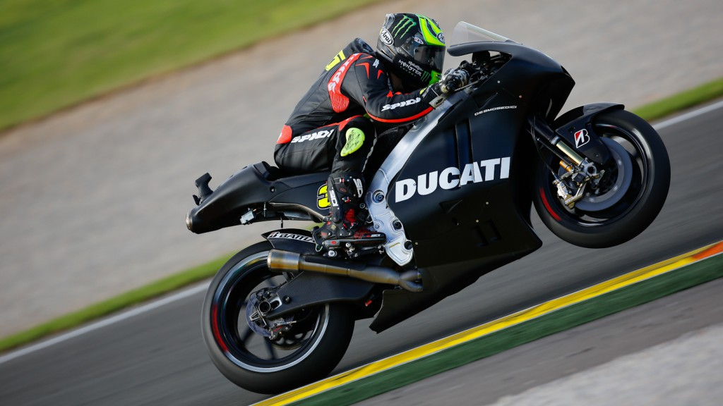 Cal Crutchlow, Ducati Team, MotoGP Valencia Test Day 1