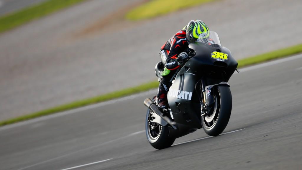 Cal Crutchlow, Ducati Team, MotoGP Valencia Test Day 1