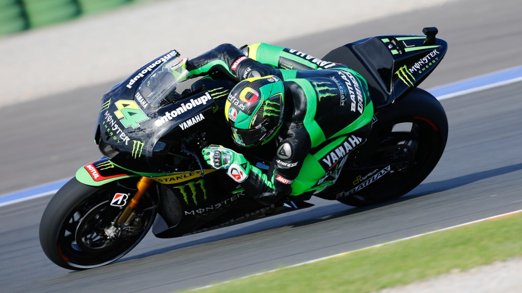 Pol Espargaro, Monster Yamaha Tech 3, MotoGP Valencia Test Day 1