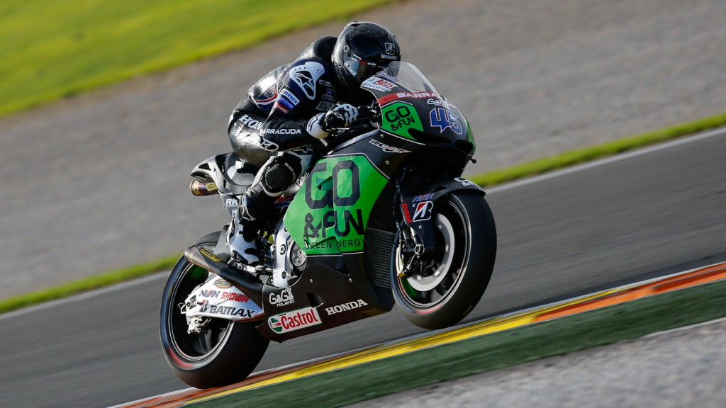 Scott Redding, GO&FUN Honda Gresini, MotoGP Valencia Test Day 1