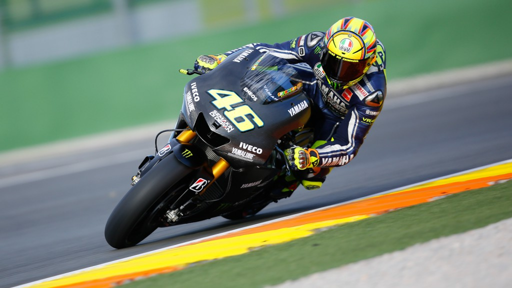Valentino Rossi, Yamaha Factory Racing, MotoGP Valencia Test Day 1