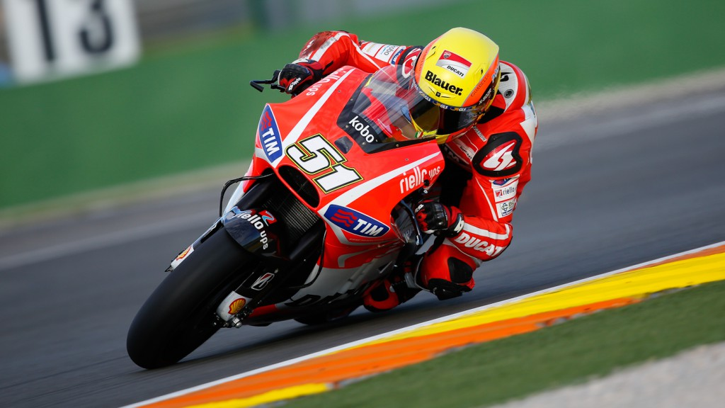 Michele Pirro, Ducati Test,  MotoGP Valencia Test Day 1