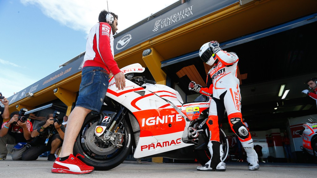 Yonny Hernandez, Pramac Racing Team, MotoGP Valencia Test