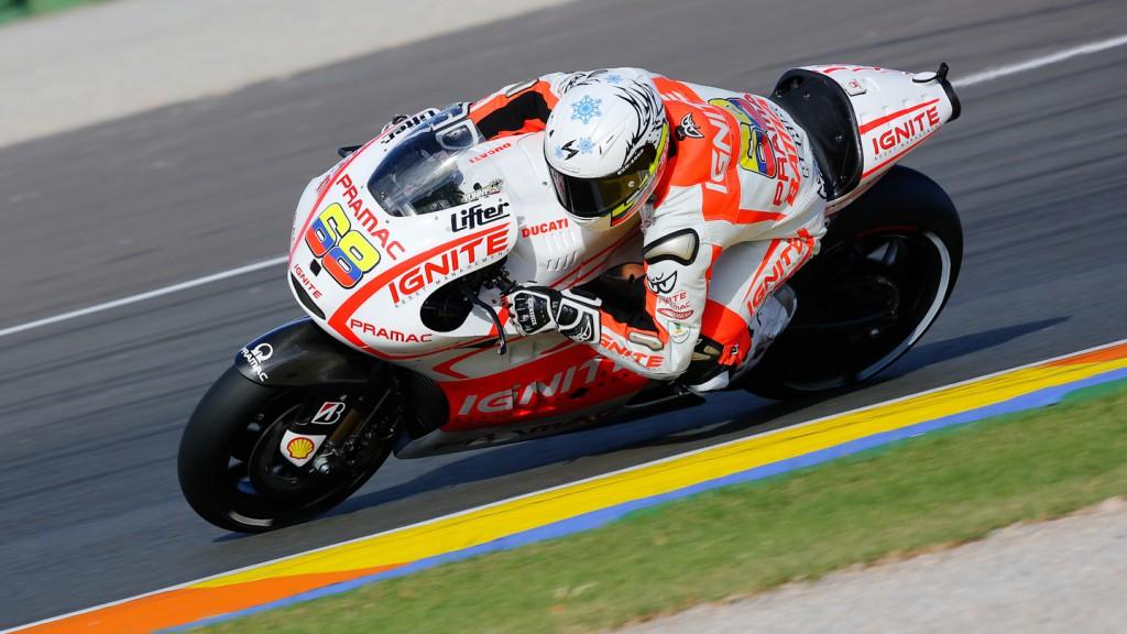 Yonny Hernandez, Pramac Racing Team, MotoGP Valencia Test Day 1