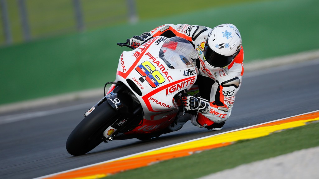 Yonny Hernandez, Pramac Racing Team, MotoGP Valencia Test Day 1