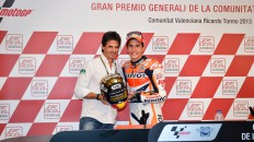 Alex Crivillé and 2013 MotoGP World Champion Marc Marquez