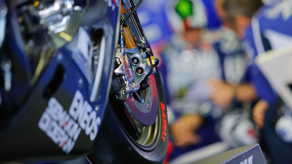 Jorge Lorenzo, Yamaha Factory Racing, Valencia Test Day 1
