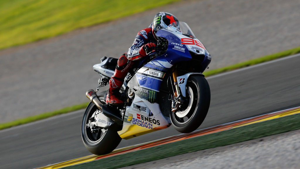 Jorge Lorenzo, Yamaha Factory Racing, MotoGP Valencia Test Day 1